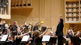 Orkestra Linzen Robert Treviñoren zuzendaritzapean