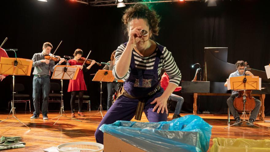 Euskadiko Orkestrak eta Kursaal Eszenak 'Ekomusik' programatu dute, musika ekologiarekin lotzen duen Musika Familian kontzertua