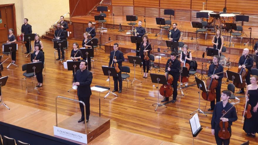 ETB2k 'Euskadiko Orkestra Martxan!' ekimeneko lehen kontzertua eskainiko du larunbat honetan 11:00etan