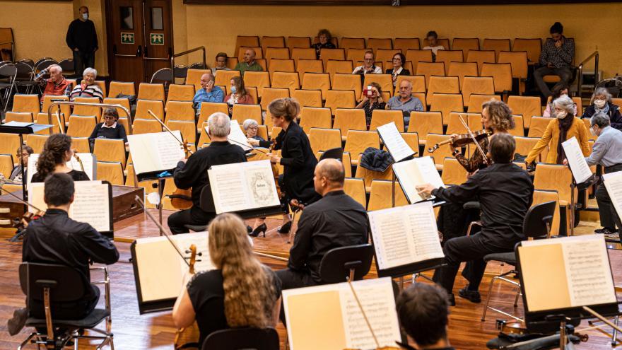'Euskadiko Orkestra Martxan!' ekimeneko azken kontzertuaren grabazioa publikoari irekiko zaio