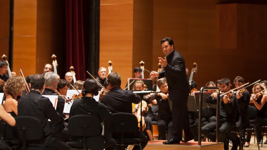 Euskadiko Orkestrak larunbat honetatik aurrera 20/21 Denboraldiko kontzertuak eskainiko ditu ETBn eta bere YouTubeko kanalean