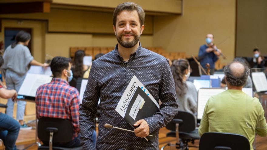 Jaume Santonja, Euskadiko Orkestraren zuzendari elkartu berria