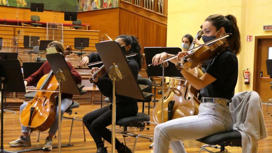 Musikeneko 30 bat ikaslek hartuko dute parte Euskadiko Orkestraren hurrengo kontzertu-programan