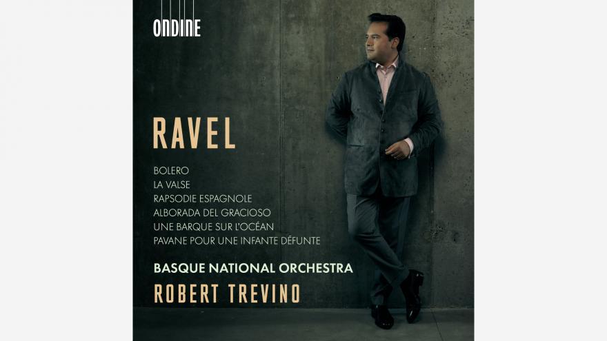 Euskadiko Orkestrak eta Robert Treviñok elkarrekin grabatutako euren lehen diskoan aurkeztu dute euskal konpositore unibertsalena: Ravel