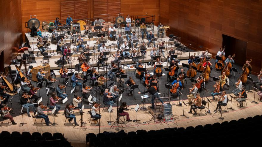 Euskadiko Orkestrak eta Robert Treviñok lehendabizikoz grabatuko dute elkarrekin