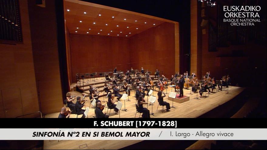 Euskadiko Orkestrak 20/21 Denboraldiko kontzertuetako obrak YouTubera igoko ditu gaurtik aurrera
