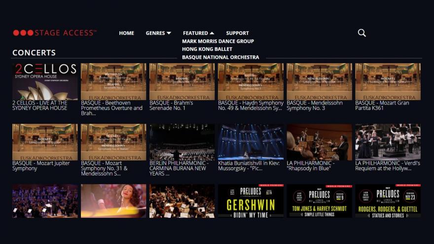 Euskadiko Orkestra telebista iparramerikarraren eszenatokira igo da
